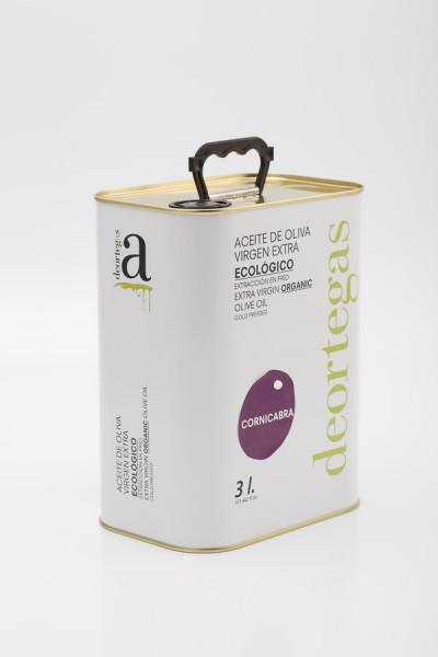 Cornicabra Extra Virgin Bio Olivenöl, 3l Kanister