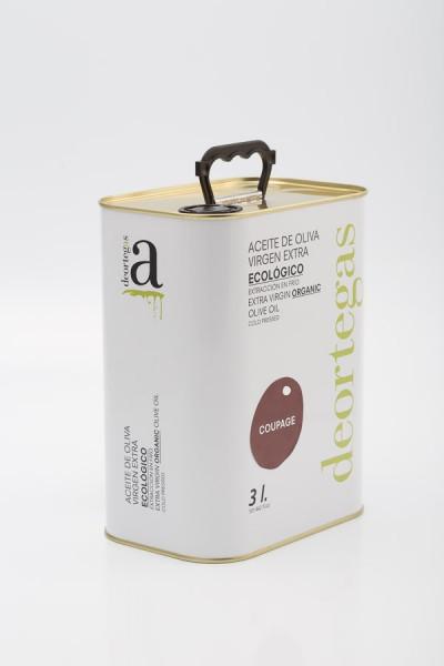 Coupage Extra Virgin Bio Olivenöl, 3l Kanister